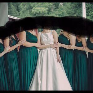 Davids bridal bridesmaid dress size 10 juniper